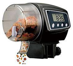 FlatLED Fish Feeder, Programmable Automatic Digital Aquarium Tank Fish Food Timer 2005D - http://www.petsupplyliquidators.com/flatled-fish-feeder-programmable-automatic-digital-aquarium-tank-fish-food-timer-2005d/