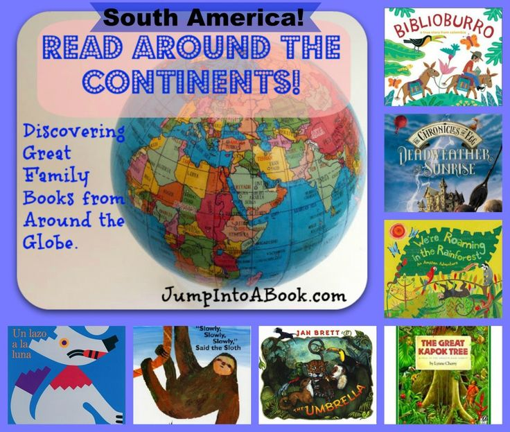 Read Around the Continents: South America Booklist