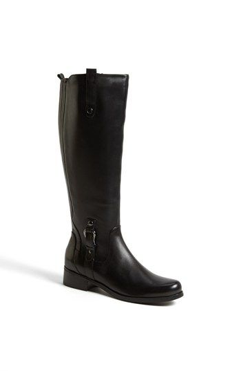 Free shipping and returns on Blondo 'Venise' Waterproof Leather Riding Boot (Women) at Nordstrom.com. Equestrian-inspired detailing and a sleek profile style this seam-sealed, supple leather boot from Blondo that also features a full-length side zipper and elastic gore back panel for a comfy, customized fit.