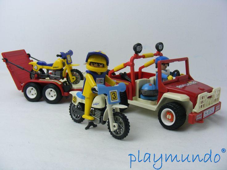 Pin de playmundo en ciudad pinterest playmobil ciudades y motos de motocross - Moto cross playmobil ...