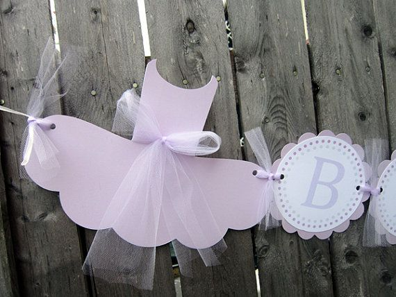 Hey, I found this really awesome Etsy listing at https://www.etsy.com/listing/200333223/ballet-baby-shower-banner-tutu-baby