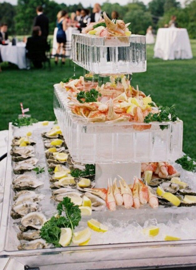 High Quality Ice Block Rectangles For Seafood Table. The Enchanted Home: Summer  Entertaining, Party Ideas And A Fabulous Entertaining Giveaway! By Ohmy