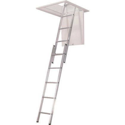 Abru 2 Section Aluminium Loft Ladder
