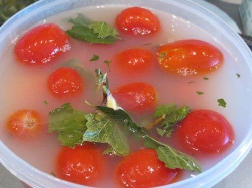 Квашеные помидоры (как из бочки)