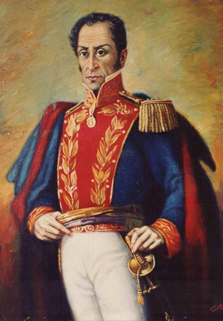 In northern South America, an independence movement led by a Creole officer, Simon Bolívar, began in Caracas in 1810. Between 1817 and 1822, he won victories in Venezuela, Colombia, and Ecuador.