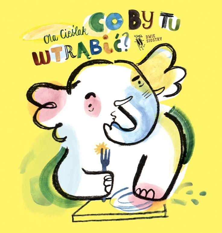 polska ilustracja dla dzieci: Zapowiedź - Co by tu wtrąbić?