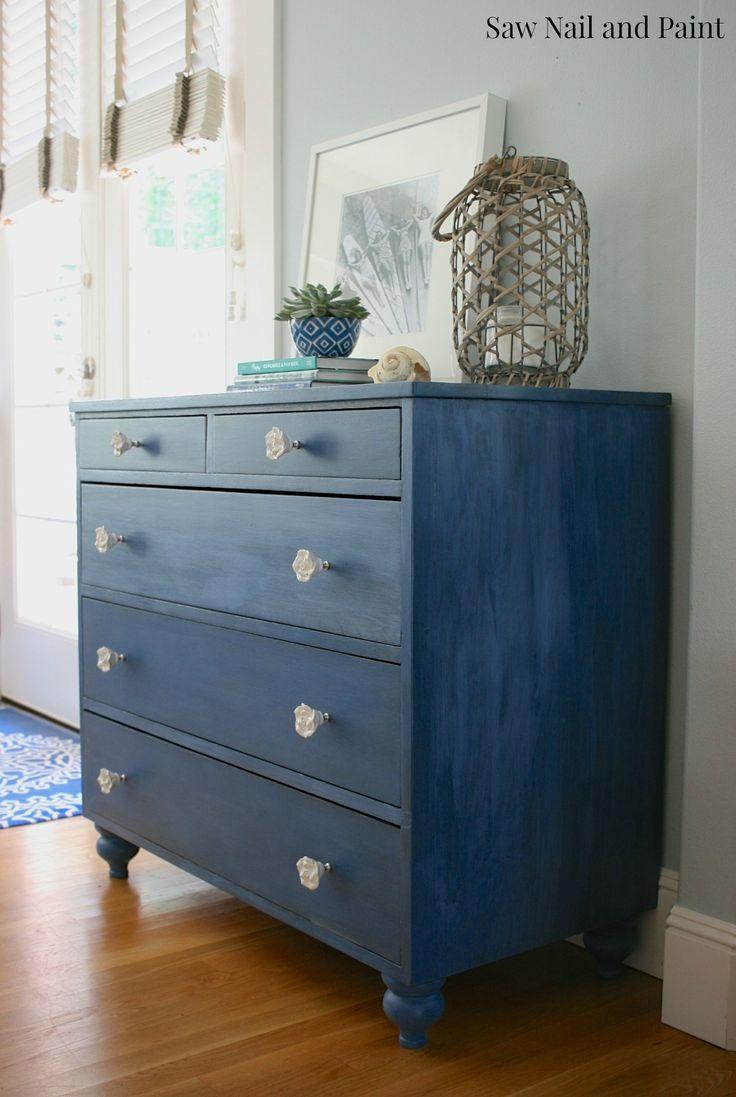 Federal Blue dresser side