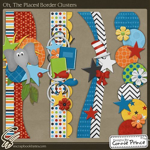 Dr Seuss scrapbook borders