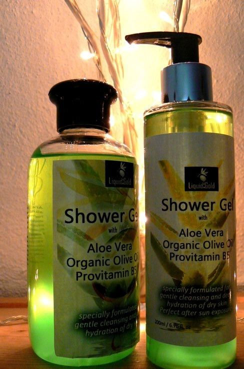 Shower gel with Olive Oil and Aloe Vera