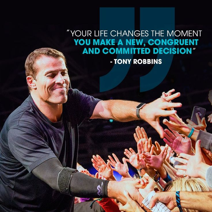 Anthony Robbins Quotes: 1000+ Ideas About Tony Robbins On Pinterest