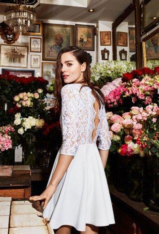 Cette robe de mariée est signée Claudie Pierlot pour l'été 2016