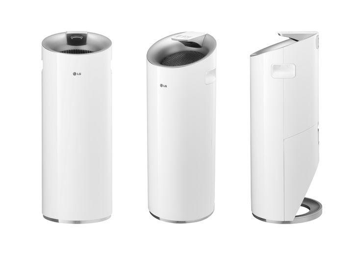 2014 Red-dot Design Winner LG Air-purifier 'Alps(Lhotse)'