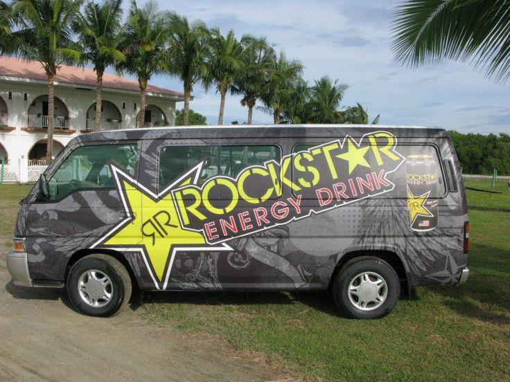 Rockstar Energy Drink Van