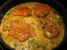 The Virtuous Wife: Cajun Smothered Porkchops and Gravy Tutorial Tried this and it was absolutely delicious!!! Easy simple recipe, this one's a keeper :-)