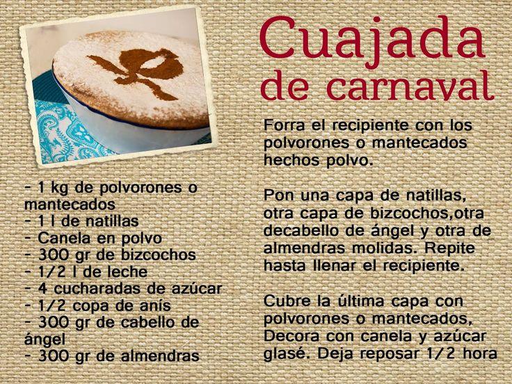 Hoy, os enseñamos una típica receta de Granada: la cuajada de carnaval. Por supuesto, ¡¡no os olvidéis de utilizar un lebrillo de Fajalauza!!