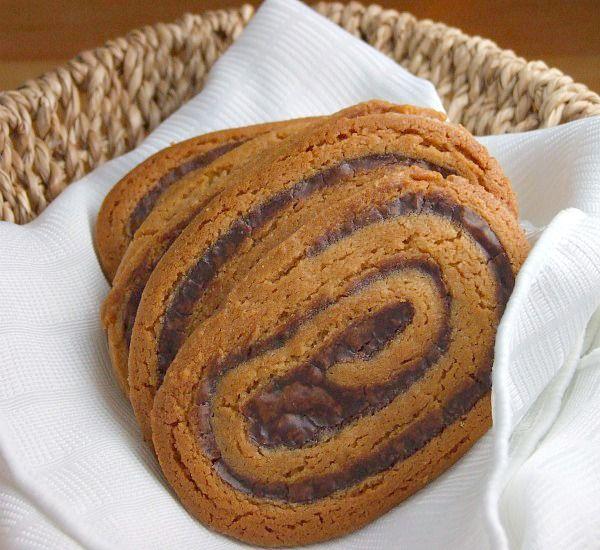 Chocolate Swirled Peanut Butter Cookies Recipe
