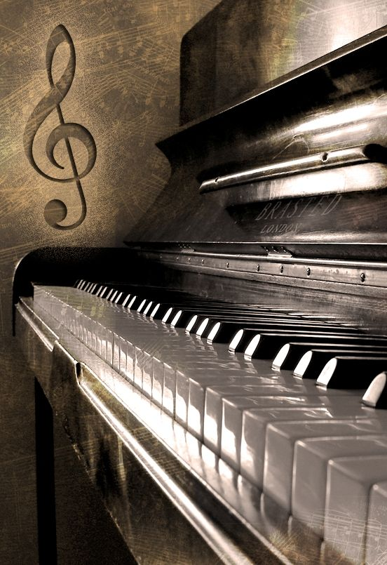piano art photography
