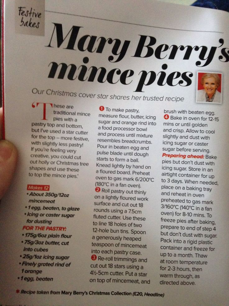 Mary Berry recipe!