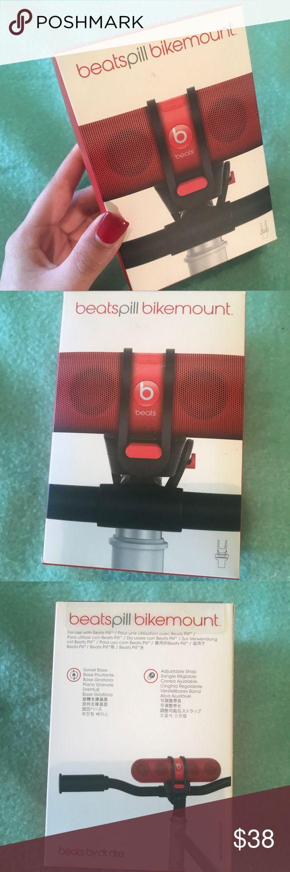 🆕 NEW BEATS PILL BIKE MOUNT NEW STILL IN BOX NEVER OPENED Beats Pill Bike Mount Amazing Quality and really unique! #beatspill #beats #beatsbydre Beats By Dre Accessories