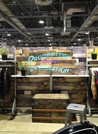 trade show booth idea wood pallets - Google Search (With ...