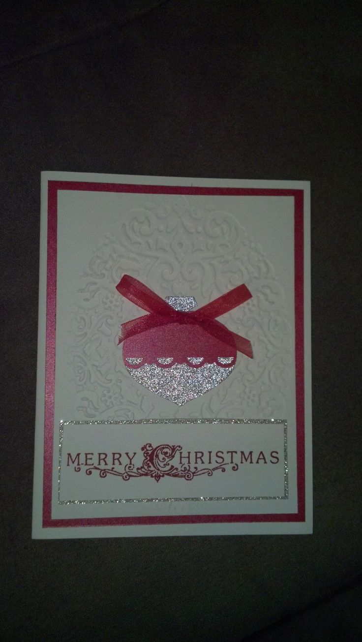 Stampin Up Ornament Punch