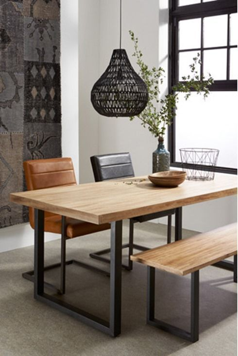 Terrific Mix And Match Dining Chairs And Bench Mesas De Pabps2019 Chair Design Images Pabps2019Com