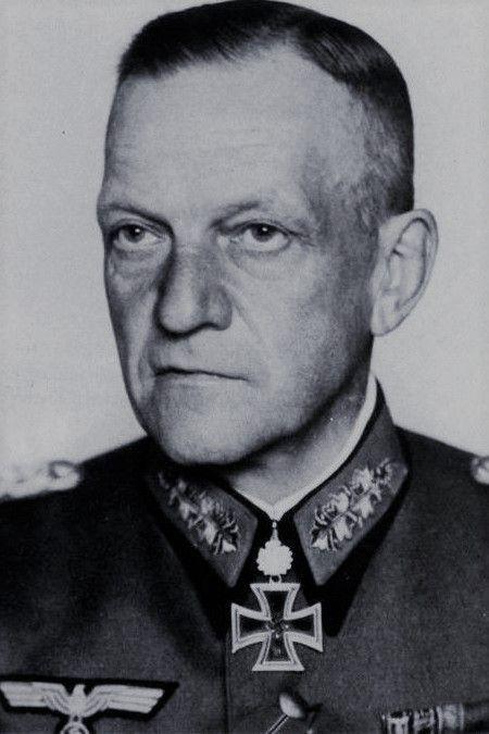Generaloberst Georg Lindemann (1884-1963), Oberbefehlshaber 18. Armee, Ritterkreuz 05.08.1940, Eichenlaub (275) 21.08.1943