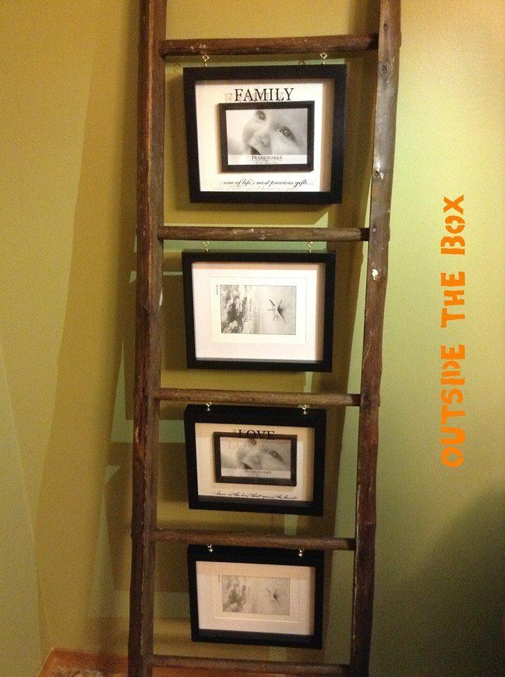 Primitive Decorating, Tailgate Bench, Wooden Ladder