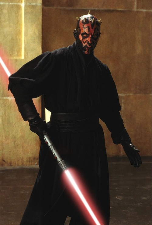 Ray Park as Darth Maul in Star Wars: Episode I - The Phantom Menace.