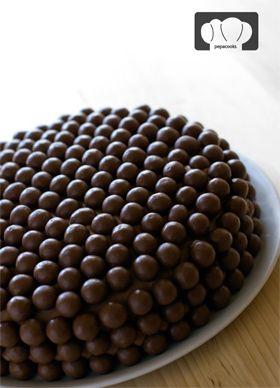 receta de tarta de chocolate y maltesers