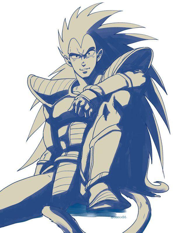 Raditz Dragon Ball Art Dragon Ball Z Dragon Ball Super