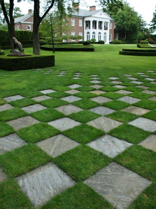 Landscape Slate Tile Garden Design, Pictures, Remodel, Decor and Ideas - page 2
