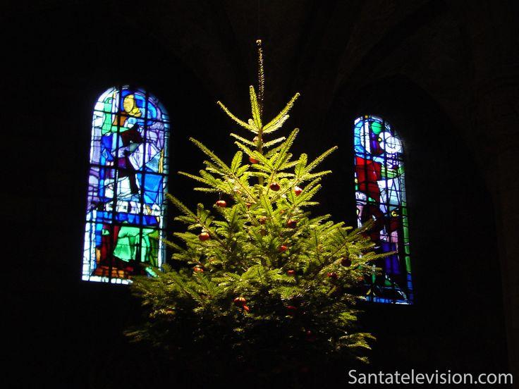 Traditioneller Weihnachtsbaum in Sélestat, Frankreich