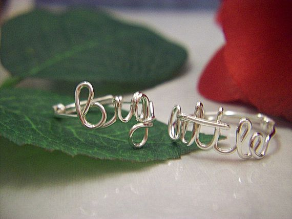 Hey, I found this really awesome Etsy listing at https://www.etsy.com/listing/170541453/sterling-silver-sorority-big-and-little