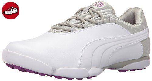 Puma Damen sunnylite V2Golf Schuh, weiß - White/Gray Violet/Polyurethane - Größe: 38 EU F UK - Puma schuhe (*Partner-Link)