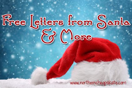 Free Letters from Santa, Free Santa Videos and much more to help you create some holiday magic!
