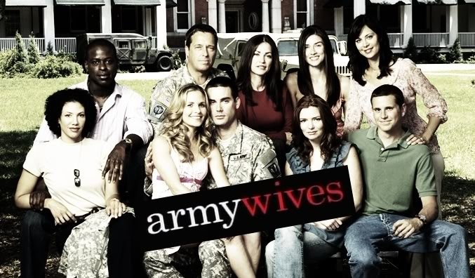 army wives. one of my favorite shows