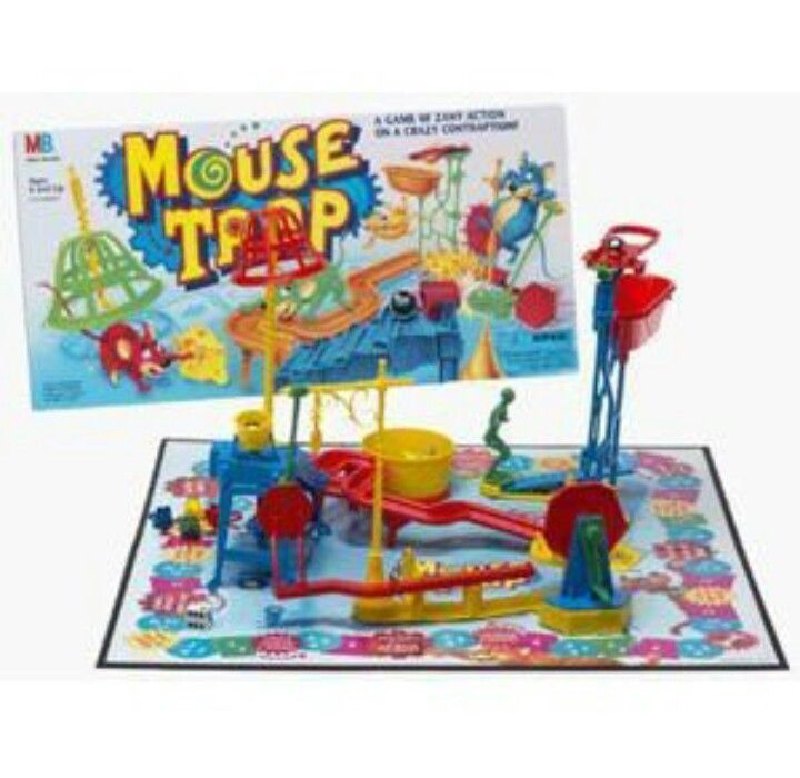 Mouse Trap Mouse Trap Game Setup
