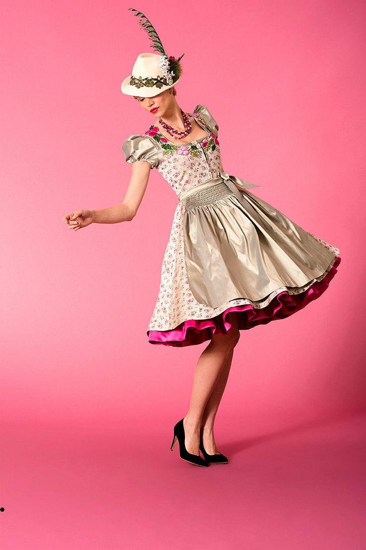 Dirndl Beryl, including buy apron in costumes Angermaier online