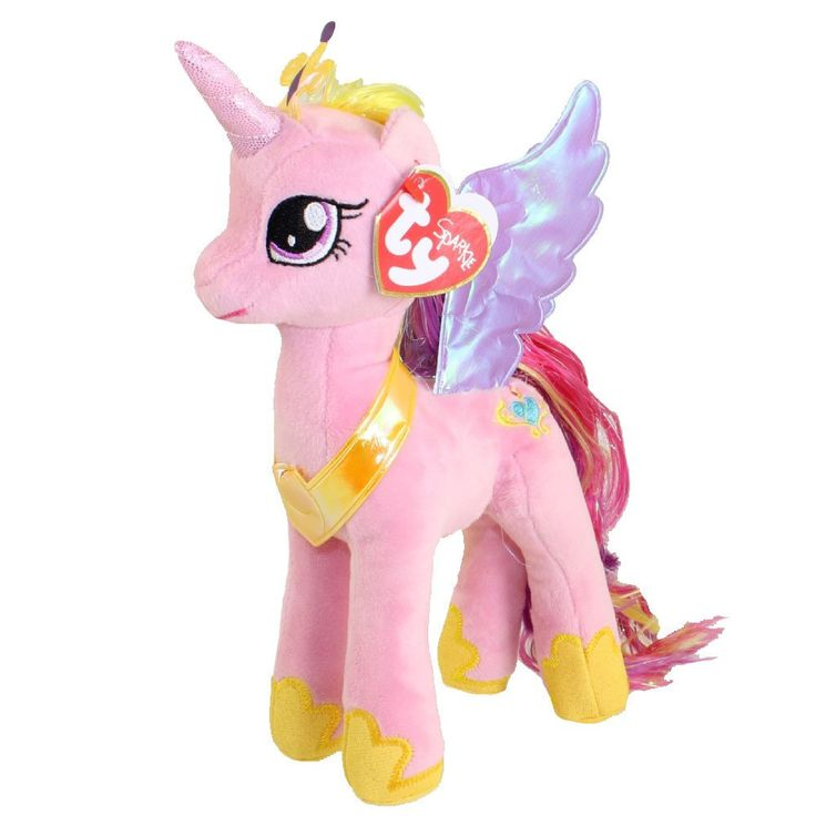 TY Beanie Buddies My Little Pony Princess Cadence Plush Doll (Licensed – The Geekery