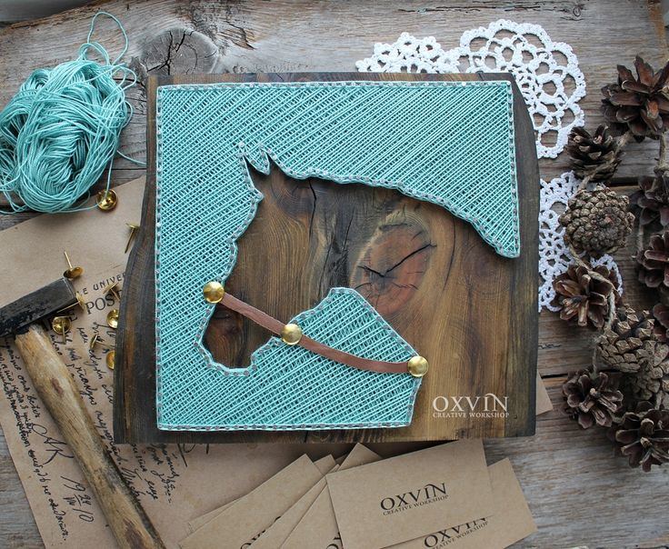 string art horse                                                       …