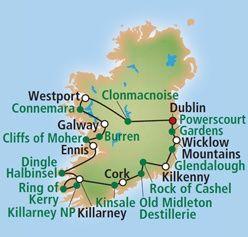 Irland Rundreise Autorundreise Wild Atlantic Way Preise Reiseverlauf Dingle