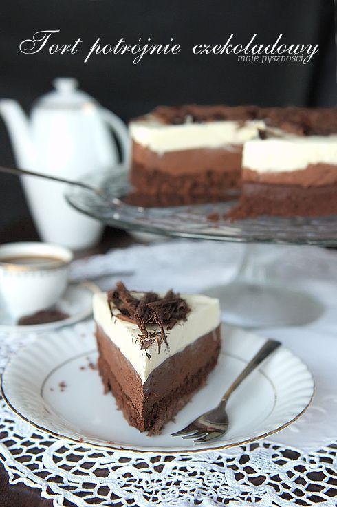 115 Tort potrójnie czekoladowy