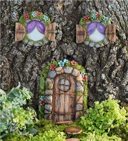 62 best images about yard and garden on pinterest for Hallmark fairy door