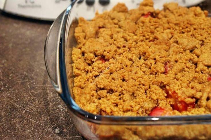 Crumble de fraises au Thermomix TM5 et TM31