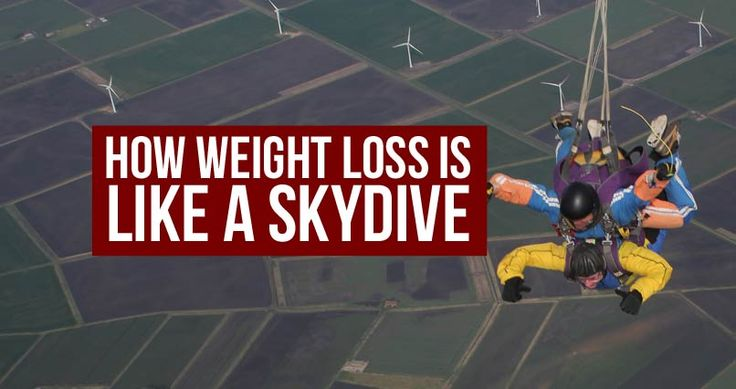 Juice Cleanse: How Weight Loss is Like A Skydive