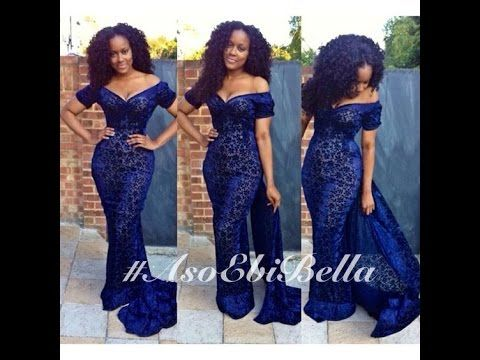 Creative Aso Ebi Lace Styles: Beautiful Lace Aso Ebi Collections