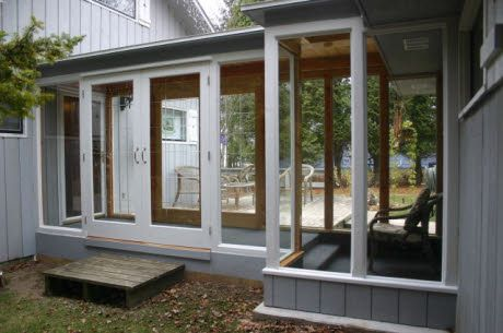 Breezeway to Garage (Enclosed and access to deck/outdoors)