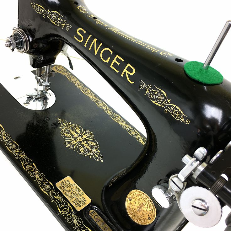 1939 Fully Serviced, Cleaned & Restored SINGER 99k Vintage Portable Heavy Duty Sewing Machine Sale by 3FTERS by 3FTERS on Etsy