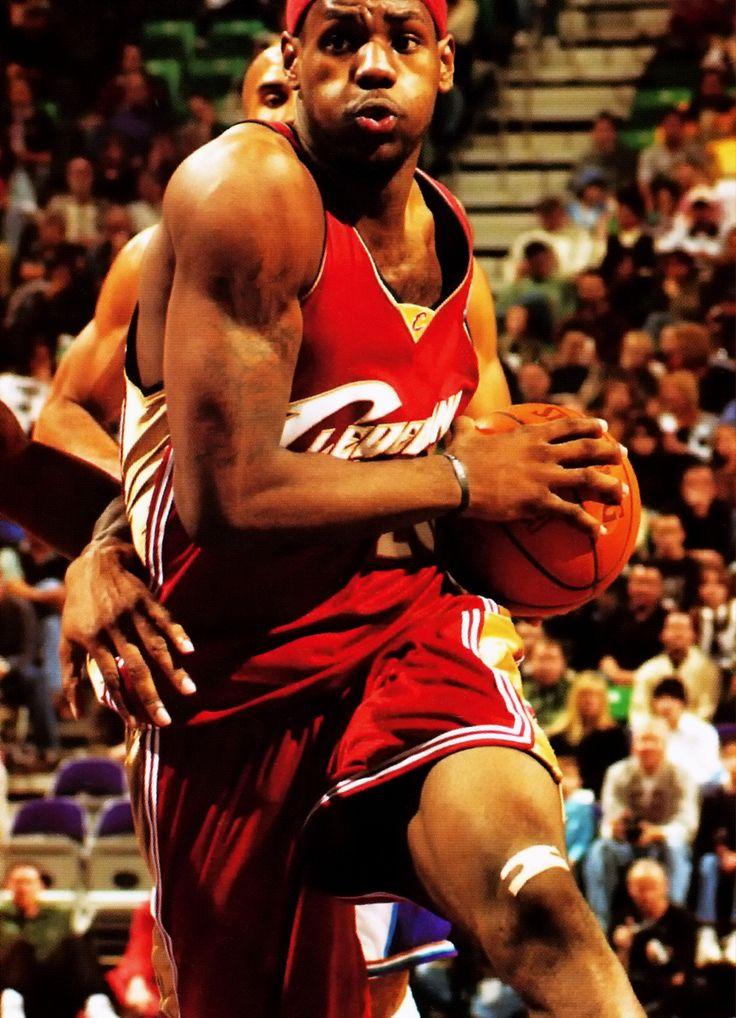 LeBron James (USA) - 2003 Draft to the Cleveland Cavaliers, Forward  www.kingsofsports.com